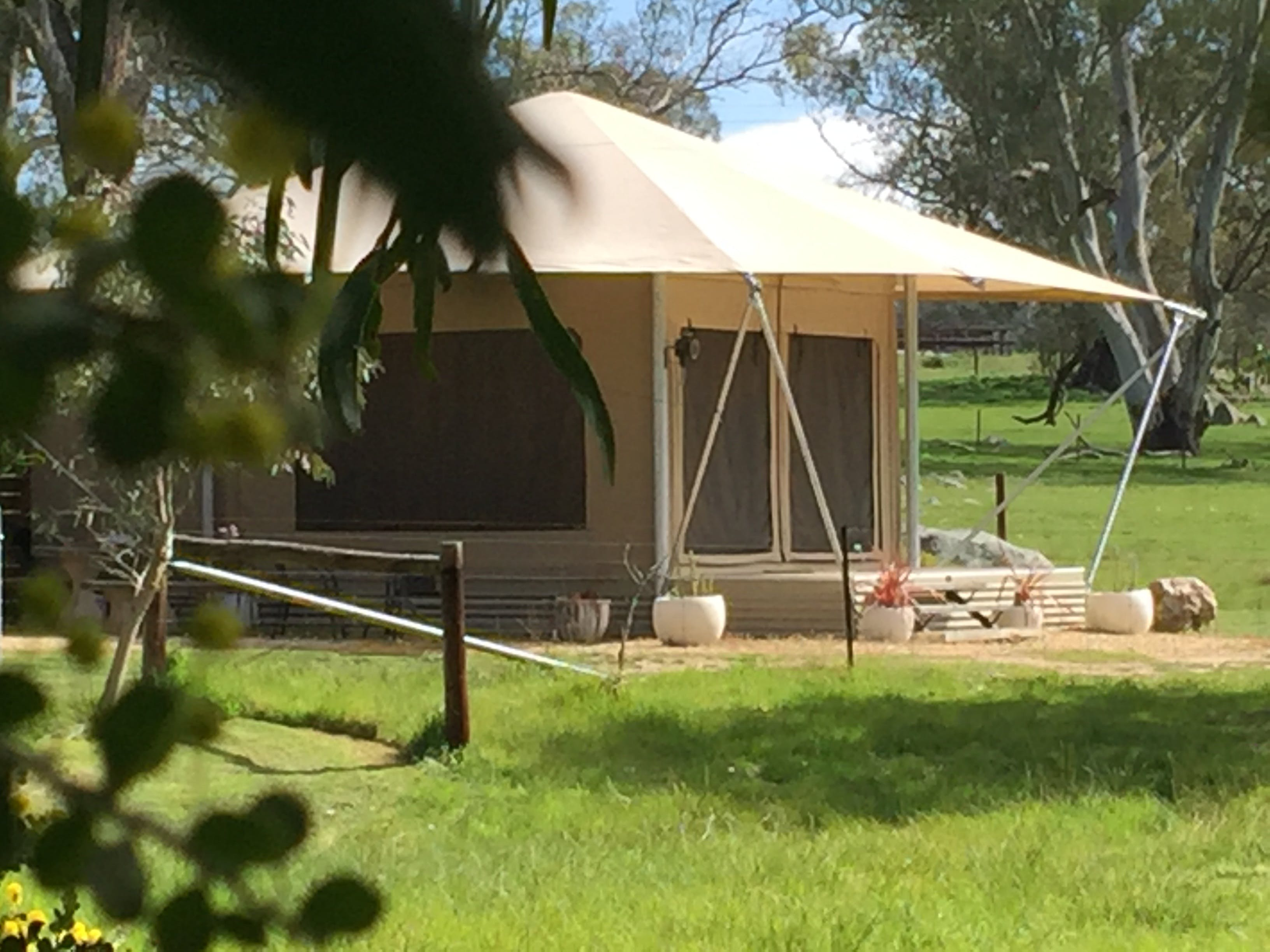 Boongarrie Luxury Tent - Kempsey Accommodation