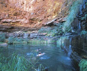 Dales Gorge and Circular Pool - Kempsey Accommodation