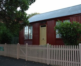 19th Century Portable Iron Houses - Kempsey Accommodation